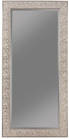 Silver Sparkle Accent Mirror