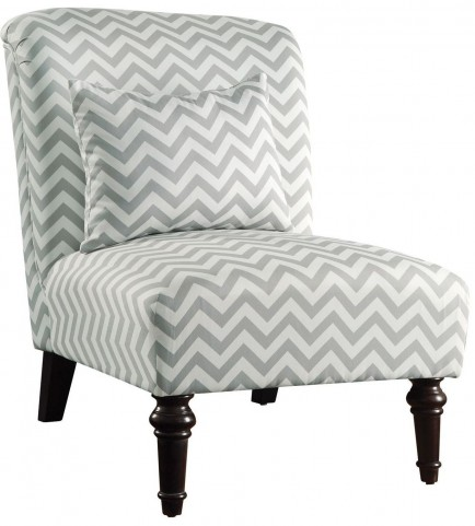902018 Grey Accent Chair