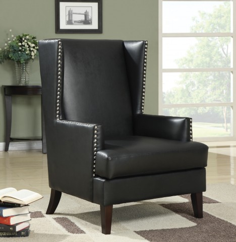 902078 Black Accent Chair