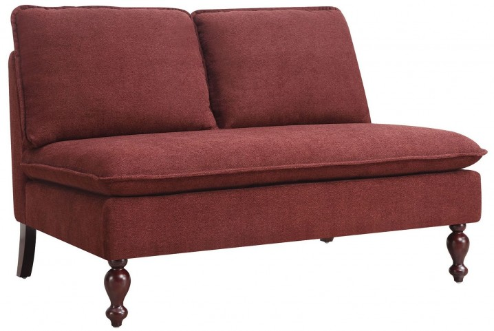 Grenadine Fabric Settee