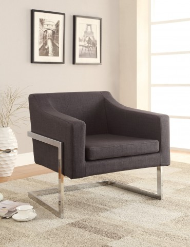 902530 Grey Accent Chair