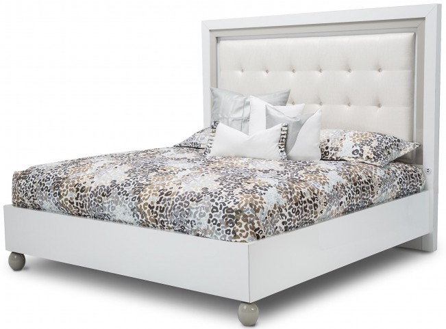 Sky Tower White Cloud King Platform Bed