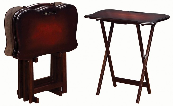 Merlot Tray Table
