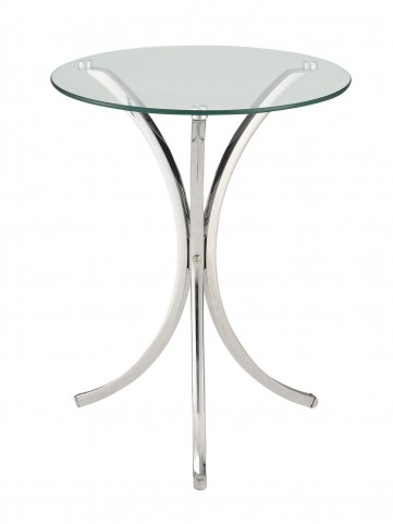 902869 Chrome Snack Table