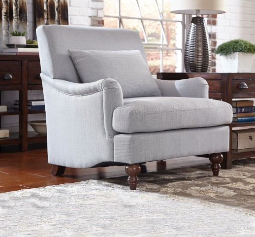 Light Grey Fabric Chair