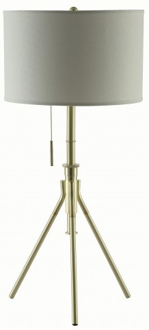 "32"" Gold Floor Lamp"