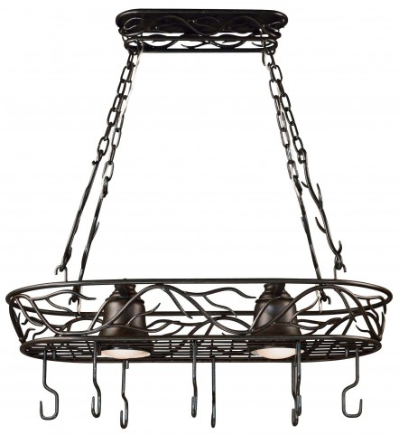 Twigs 2 Light Pot Rack