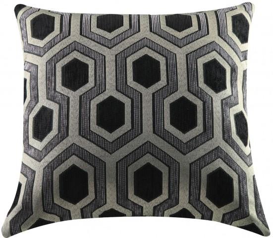 Hexagon Accent Pillow Set of 2