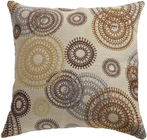 Circle Swirls Accent Pillow Set of 2