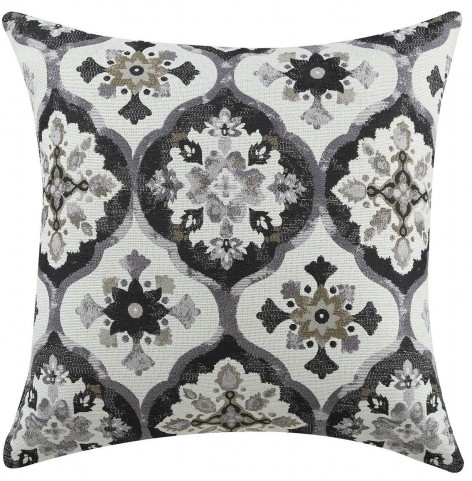 Grey Kaleidoscope Accent Pillow Set of 2