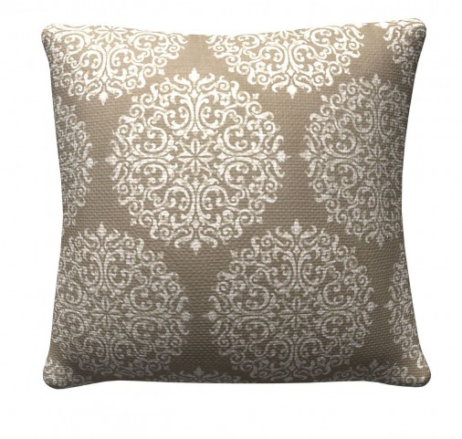 905315 Taupe Medallion Pillows