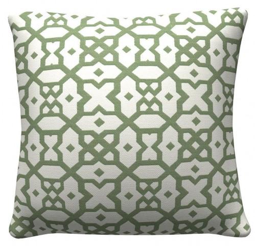 905321 Green Lattic Pillows