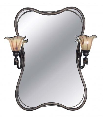 Inverness 2 Light Vanity Mirror