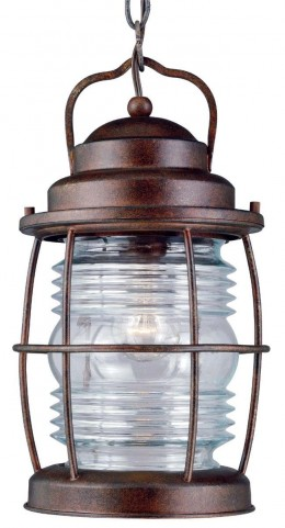 Beacon Gilded Copper Hanging Lantern