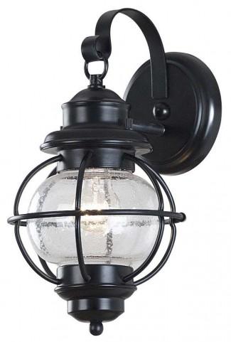 Hatteras Black Small Wall Lantern