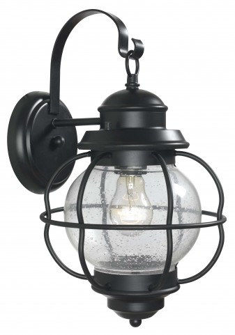 Hatteras Black Medium Wall Lantern