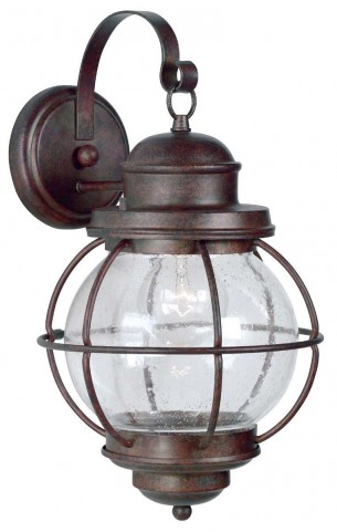 Hatteras Gilded Copper Large Wall Lantern