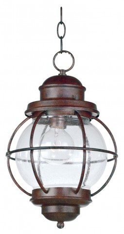 Hatteras Gilded Copper Hanging Lantern