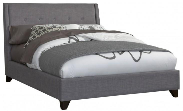Nolan Ash King Upholstered Bed