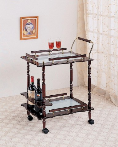 Cherry Serving Cart 910010
