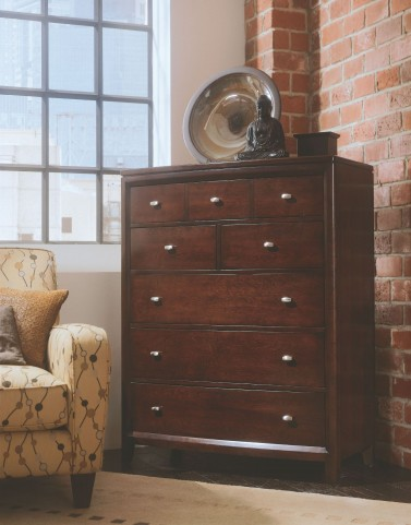 Tribecca Root Beer Drawer Chest