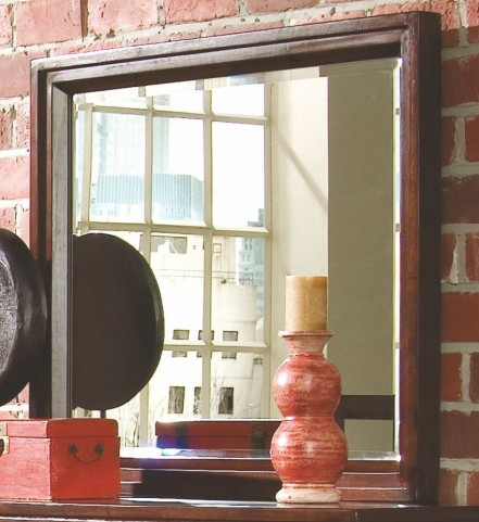 Tribecca Root Beer Landscape Mirror