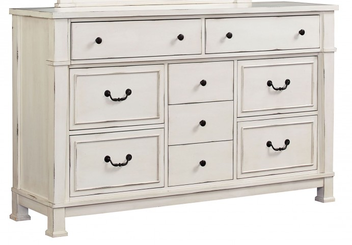 Chesapeake Bay Vintage Chalk White Dresser
