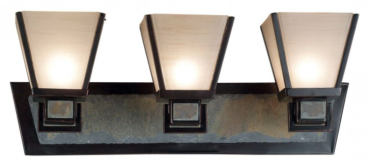 Clean Slate 3 Light Vanity Light