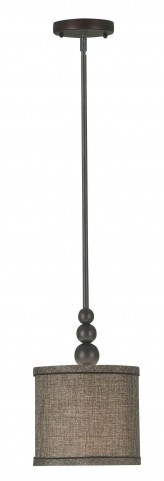 Margot Oil Rubbed Bronze 1 Light Mini Pendant