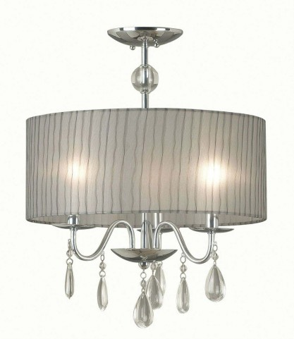 Arpeggio Chrome 3 Light Pendant