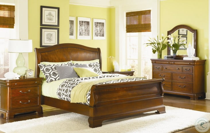 Evolution Sleigh Bedroom Set