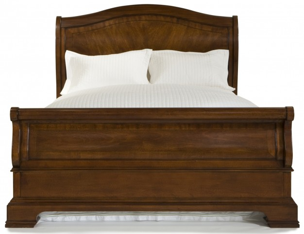Evolution Queen Sleigh Bed