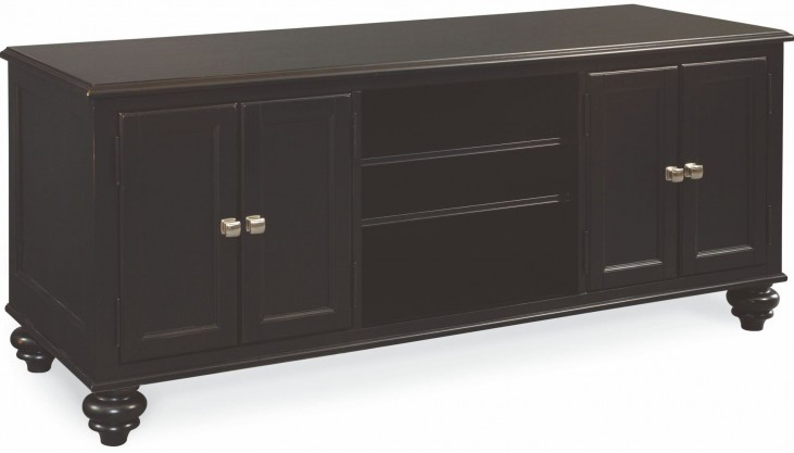 "Camden Black 64"" Entertainment Center"