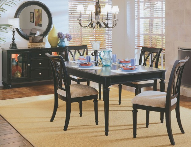 Camden Black Leg Dining Room Set