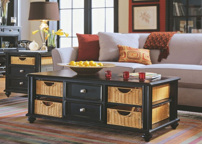 Camden Black Occasional Table Set