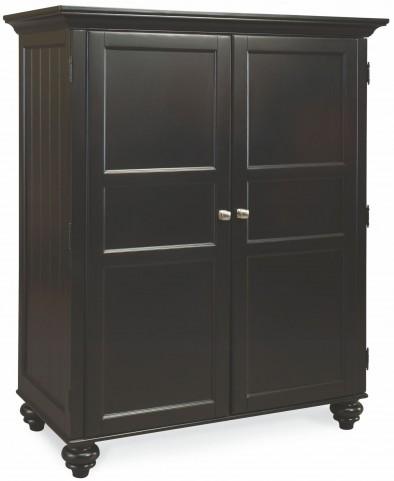 Camden Black Home Office Cabinet
