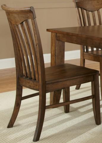 Arbor Hills Slat Back Side Chair Set of 2