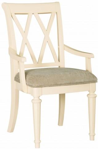 Camden Buttermilk Splat Arm Chair