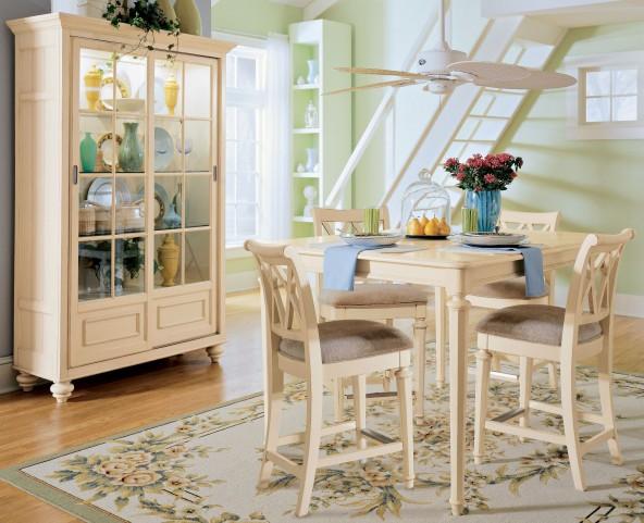 Camden Buttermilk Gathering Dining Room Set