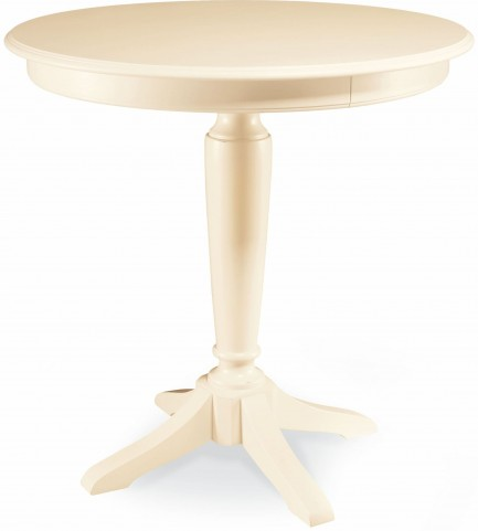Camden Buttermilk Pedestal Bar Table