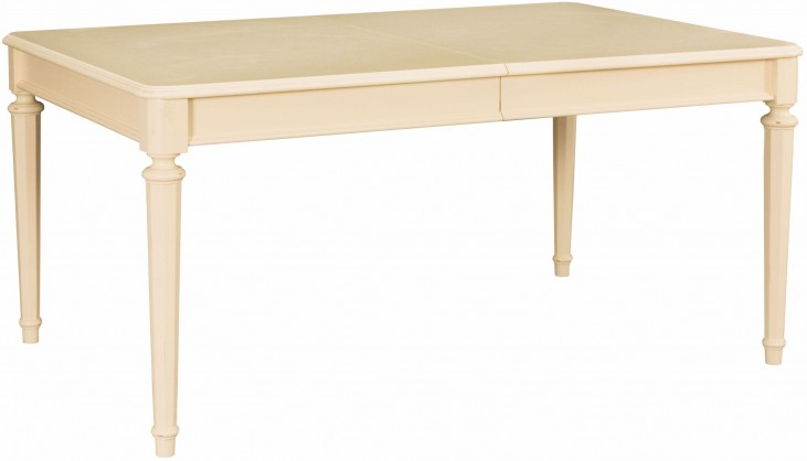 Camden Buttermilk Extendable Leg Dining Table