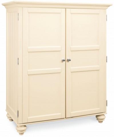 Camden Buttermilk Home Office Cabinet