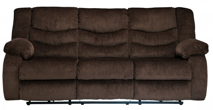 Garek Cocoa Reclining Sofa