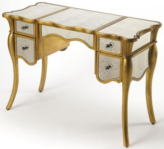 Isabella Gold Leaf Vanity