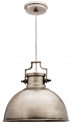 Nautilus Antique Nickel 1 Light Pendant