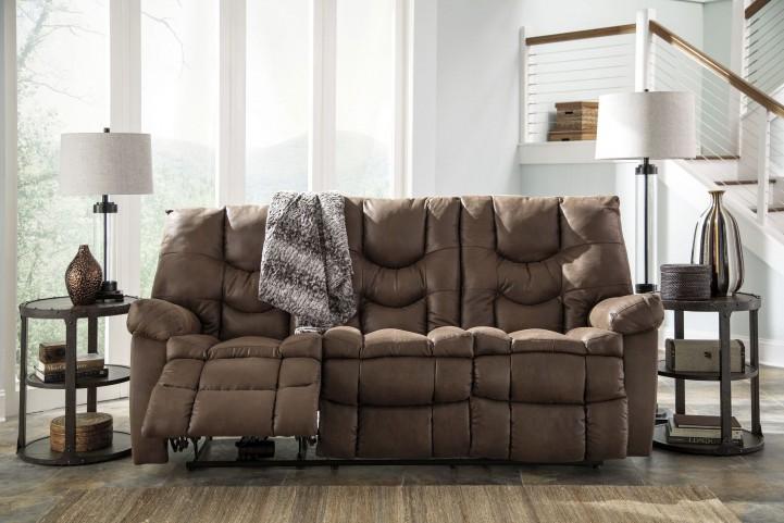 Burgett Espresso Reclining Sofa