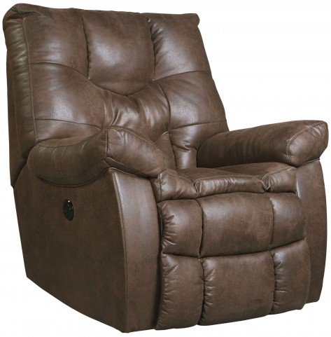 Burgett Espresso Power Rocker Recliner