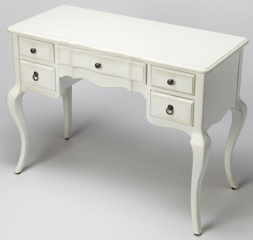 Sadie Cottage White Writing Desk