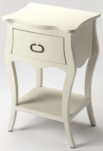 Rochelle Off White Nightstand