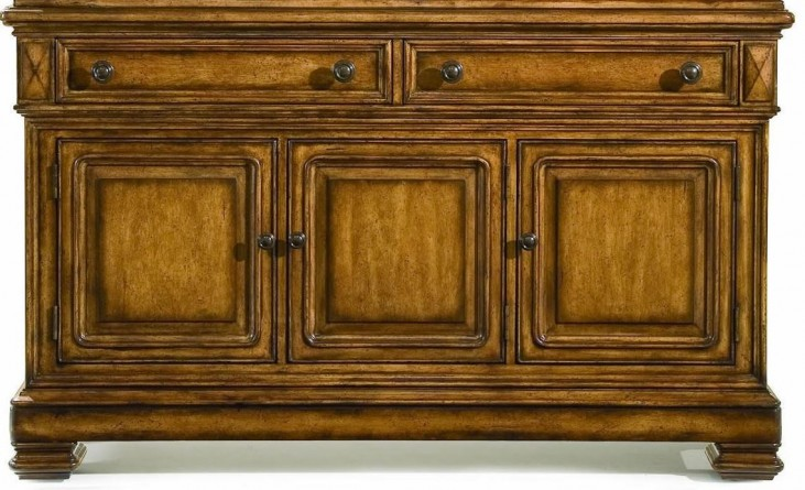 Larkspur Burnished Caramel Buffet